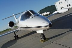 Free Lear Jet Stock Photography - 7520892