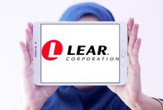 Lear Korporacja logo obrazy stock