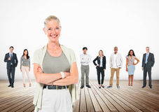 Leardership Communication Cooperate Team Concept stock photography