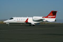 The Learjet 60XR Stock Photos