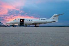 Learjet 35A Fotos de archivo
