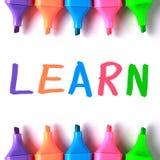learn obraz stock