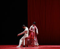 "Learn an artistic skill -Dance drama""Mei Lanfang"" Stock Images"