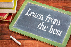 Learn from the best advice on blackboard Stock Images