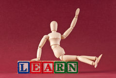 Learn Blocks Royalty Free Stock Image
