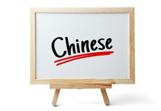 Learn Chinese Royalty Free Stock Image