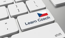 Learn Czech online Stock Photos