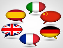 Learn different languages Royalty Free Stock Photos