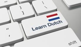 Learn Dutch online Stock Photo