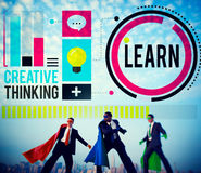 Learn Education Knowledge Ideas Creative Concept Stock Photography