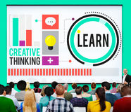 Learn Education Knowledge Ideas Creative Concept Royalty Free Stock Image