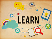 Learn Education Study Activity Knowledge Concept Royalty Free Stock Image