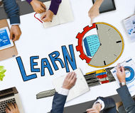 Learn Education Study Activity Knowledge Concept Stock Image