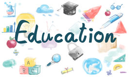 Learn Education Study Insight Knowledge Ideas Improvement Concep Stock Image