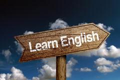 Learn English Concept royalty free stock photo