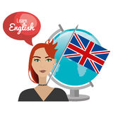 learn english design Stock Photography