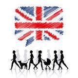 Learn english design Royalty Free Stock Photos