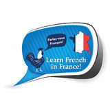 Learn French in France. Royalty Free Stock Image