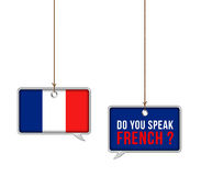 Learn French royalty free illustration