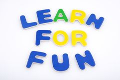 Learn for fun Royalty Free Stock Image