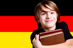 Learn german language Stock Photos