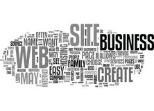 Learn How To Create A Web Site Text Background  Word Cloud Concept Royalty Free Stock Photography
