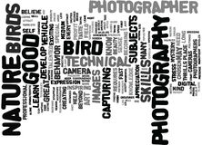 Learn How To Develop Your Technical Skills In Nature Photography Word Cloud Concept Royalty Free Stock Photos