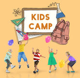 Learn Kids Camp Student Education Concept royalty free stock photo
