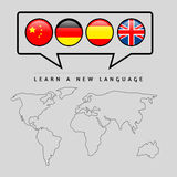 Learn language Royalty Free Stock Images