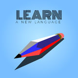 Learn language Stock Photography