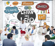 Learn and Lead Education Knowledge Development Concept Royalty Free Stock Photography