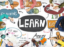 Learn Learning Education Knowledge Wisdom Studying Concept Stock Image