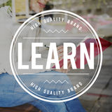 Learn Learning Knowledge Insight Improvement Concept. Woman Learn Learning Knowledge Insight Improvement stock images
