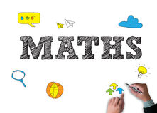 Learn MATHS Royalty Free Stock Images
