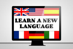 Learn a new language Stock Photography