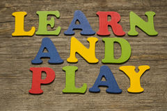 Learn and Play Stock Images
