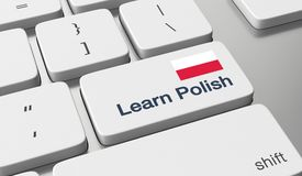 Learn Polish online Royalty Free Stock Photography