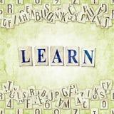 Learn Stock Photo