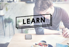 Learn Study School Student Lesson Concept Stock Image