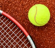 Learn tennis concept royalty free stock images
