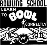 Learn To Bowl Royalty Free Stock Images