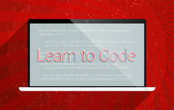 Learn to Code Royalty Free Stock Image