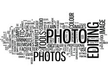 Learn To Fix Imperfect Photos Text Background  Word Cloud Concept. LEARN TO FIX IMPERFECT PHOTOS Text Background Word Cloud Concept Stock Photos