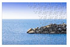 Free Learn To Manage Anxiety And Stress To Rebuild The Inner Serenity - Concept Image In Jigsaw Puzzle Shape Stock Photo - 158962150