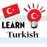 Learn Turkish Royalty Free Stock Photo