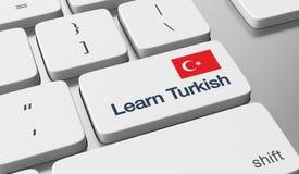 Learn Turkish online Stock Photos
