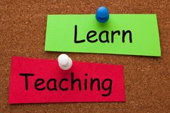 Learn Teaching Concept stock photography