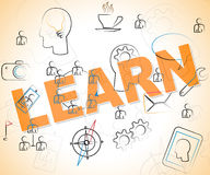 Learn Word Means Educate Educated And Development Stock Images