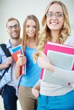 Learners of college Stock Images