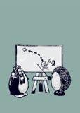 Learnibg, который нужно лететь иллюстрация вектора